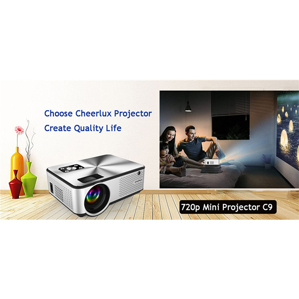 Cheap 720p Led Projector, Best Hd 720p Native Resolution Home Projector